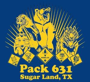 Pack 631 Logo Cub Scout Colors